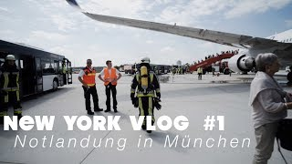 Notlandung in München | NEW YORK VLOG #1
