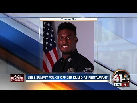 Lees Summit police officer killed in Westport shooting