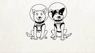 Вежливые Русские - Кто первый в космосе? (серия 7)