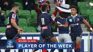 PLAYER OF THE WEEK   Super Rugby 2019 Rd 14