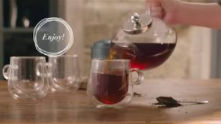 How to Use a Chelsea Glass Teapot   Whittard of Chelsea