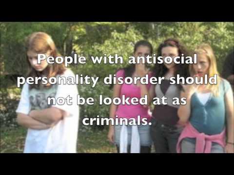 Antisocial Personality Disorder PSA
