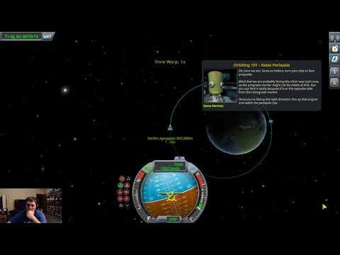 Kerbal Space Program - TRAINING: ORBITING 101 1/13/18