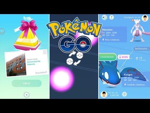 MIS PRIMEROS INTERCAMBIOS Y REGALOS! PROBANDO LA FUNCIÓN AMIGOS! [Pokémon GO-davidpetit]