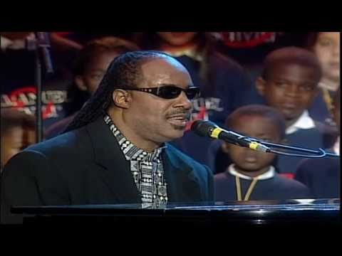 Stevie Wonder, Luciano Pavarotti & All Stars - Peace Wanted Just To Be Free (LIVE) HD