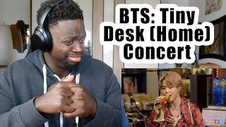 BTS: Tiny Desk (Home) Concert | REACTION!!!