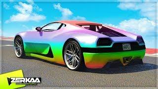 MY NEW CAR COLOUR? (GTA 5)