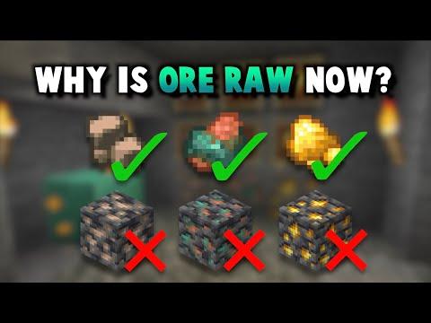 1.17: Raw Ores Make Mining Fair Again! - ibxtoycat