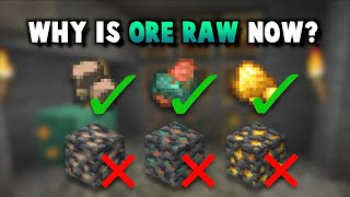 1.17: Raw Ores Make Mining Fair Again!