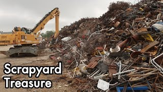 Scrapyard Treasure 03: Antique Motors, Compressors, Pistons, Pumps