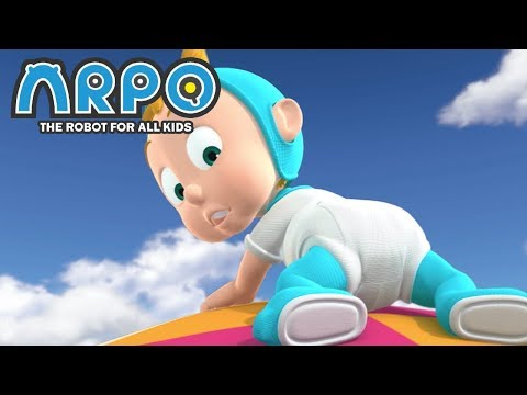 ARPO The Robot For All Kids - Flying Baby | Compilation | Cartoon for Kids