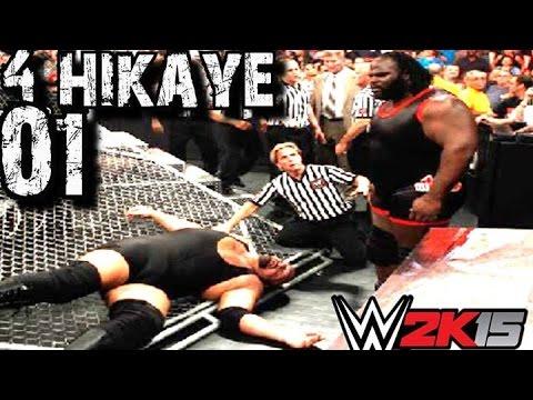 WWE 2K15 Türkçe | 4.Hikaye | Ne yaptin Mark Henry | 1.Bölüm | Ps4 | oynanış