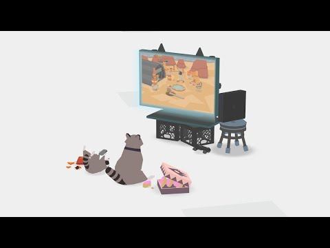 Donut County – PSX 2017: Updog Gameplay Trailer
