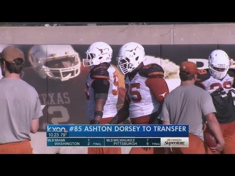 Texas DT Dorsey to transfer