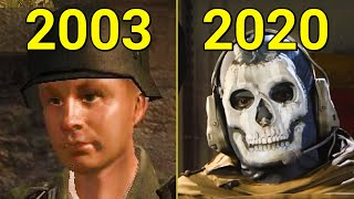 Evolution of Call of Duty Games 2003-2020