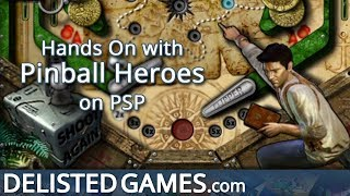 Pinball Heroes - PlayStation Portable (Delisted Games Hands On)