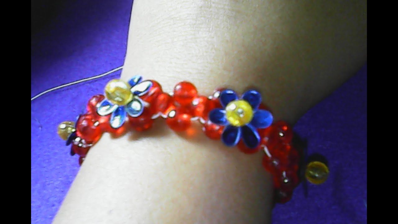 Diy Cara Membuat Gelang Sederhana Dari Manik Manik How To Make A Simple Bracelet Of Beads
