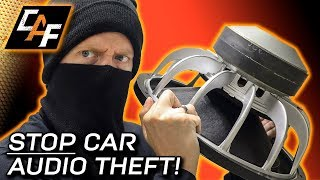 10 Ways to Deter CAR AUDIO Theft!