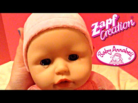 Zapf Creations Baby Annabell Doll Unboxing And Play Youtube