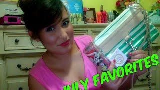 July Favorites Thumbnail