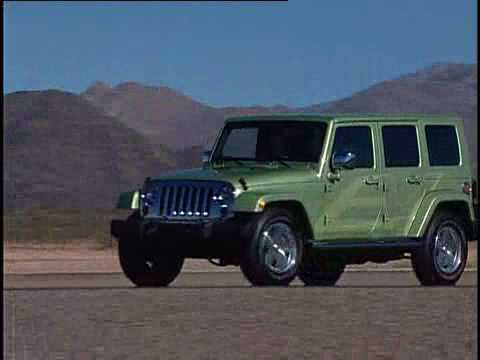 Jeep Wrangler Unlimited Ev Electric Vehicle Youtube