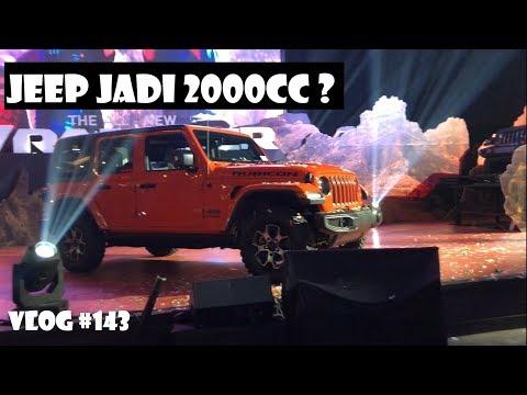 LAUNCHING JEEP JL 2018 20 TURBO INDONESIA  CARVLOG 143