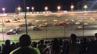 Sycamore Speedway Compact Demo 07/24/2015