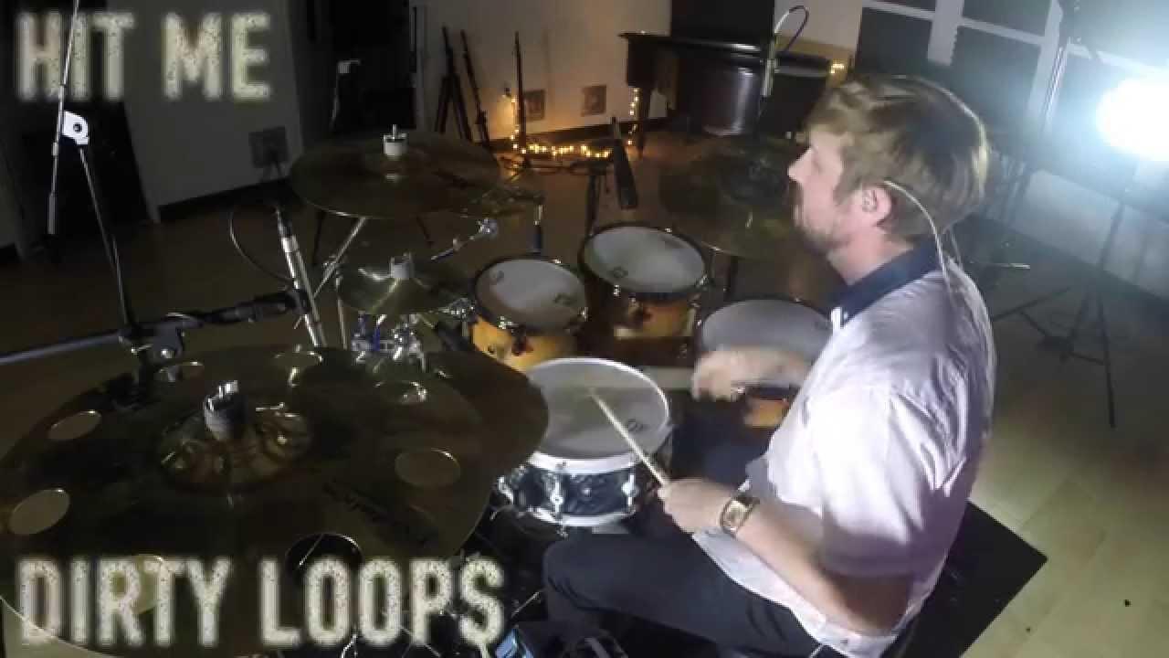 Dirty loops hit me drum cover youtube