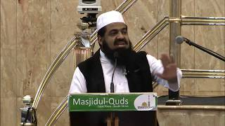 Moulana Sulaiman Moola Delivers Eid ul Adha Lecture 2017