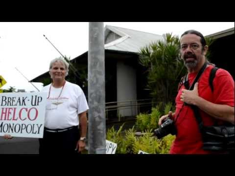 Occupy Hilo Occupies HELCo March 26, 2012