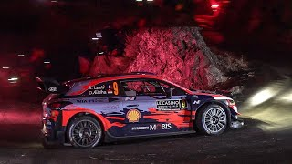 Gambar cover WRC Rallye Monte-Carlo 2020 | Day 1 - Night Show @ Les Tourniquets