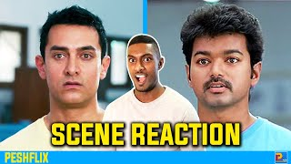 3 Idiots vs Nanban | What is a Machine Scene Reaction | Aamir Khan vs Vijay | PESHFlix Entertainment