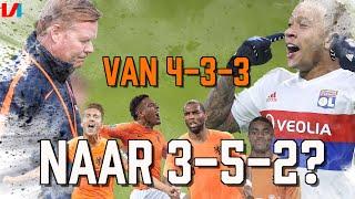 Opties Koeman Voor Memphis-loos Oranje: Babel, Boadu, De Jong, Weghorst of switchen naar 3-5-2?