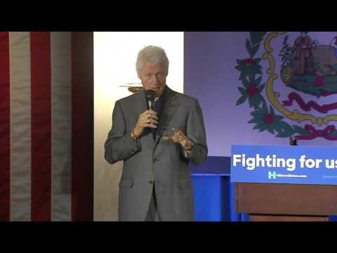 Bill Clinton WV Capitol