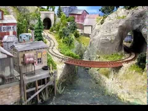 Model Railroad Train Track Plans -Track Laying Design -Small Layout Design