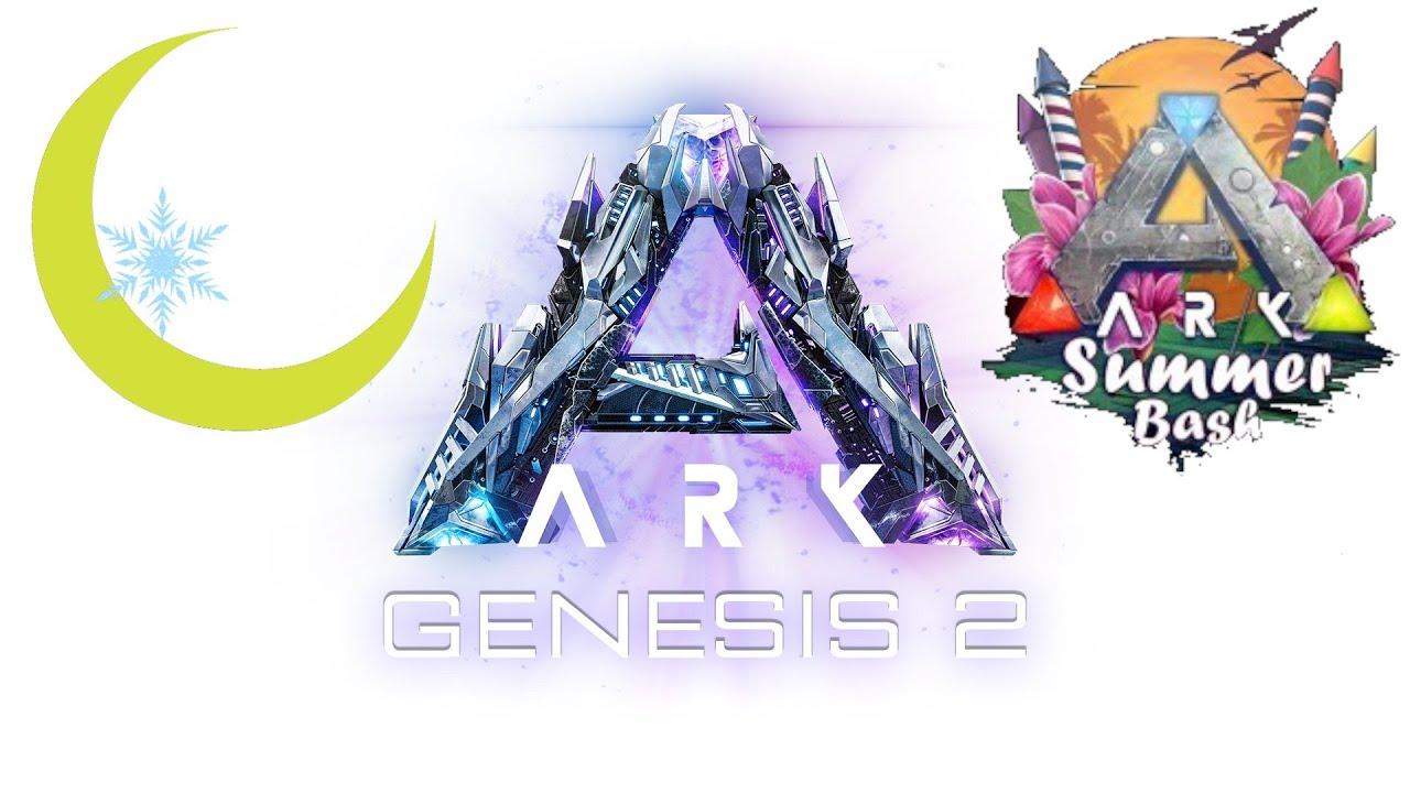Live#24【ARK:G2】同盟vsGenesis2ボスγ戦🌙*月冬7/21誕生日【公式PvE】【月冬】