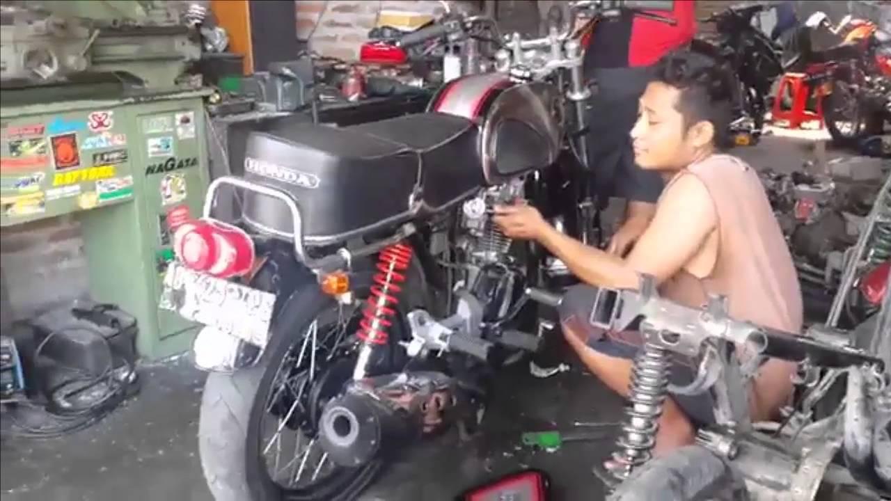 Tips Setting Karburator Motor CB 100 Mesin Tiger YouTube