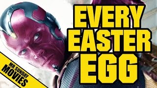 AVENGERS: AGE OF ULTRON - Every Easter Egg & Reference