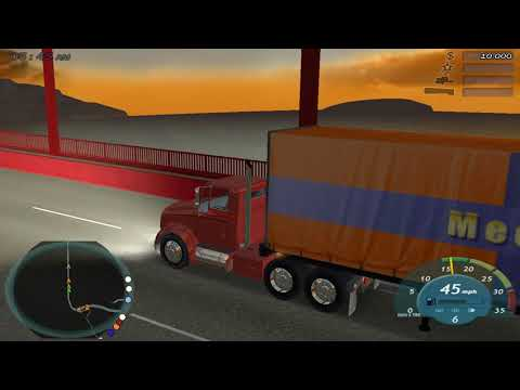 18 Wheels of Steel Convoy walkthrough part 2  