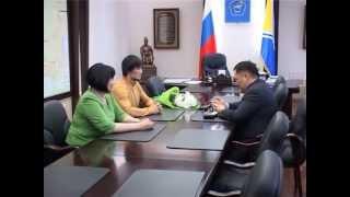 Встреча Главы Тувы Ш.В. Кара-оола c Опаном Сатом, 2 апреля 2013 г