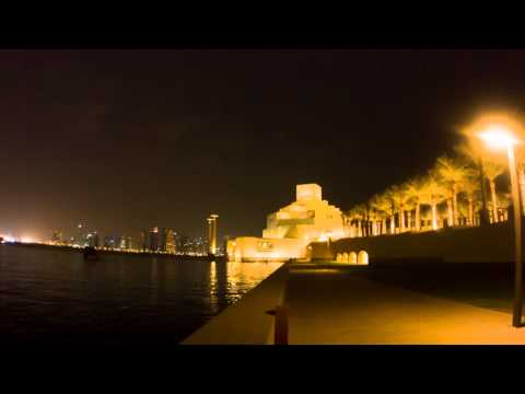 night in doha
