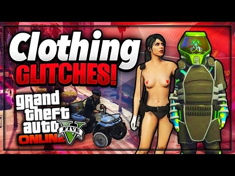 "GTA 5 Online - NEW ""CLOTHING GLITCHES"" 1.37/27 (Duffle Bag + Invisible body Parts & More)"