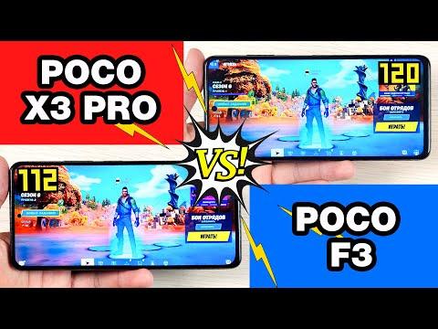 POCO X3 PRO vs POCO F3 🔥 - GAMING TEST🔥 БОЛЬШОЕ СРАВНЕНИЕ В ИГРАХ! FPS + НАГРЕВ!