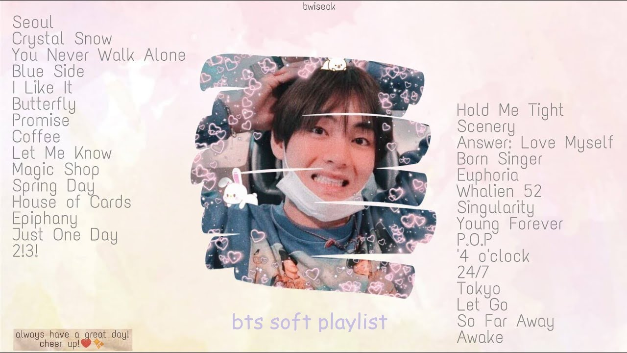 bts chill playlist: relaxing, sleeping, studying, etc.