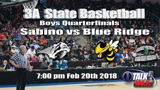 Sabino vs Blue Ridge 3A State Basketball Quarterfinals