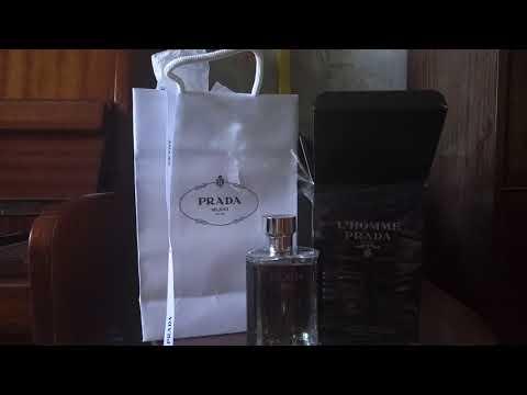 Анбокс на мужской парфюм/одеколон/аромат Prada L'Homme