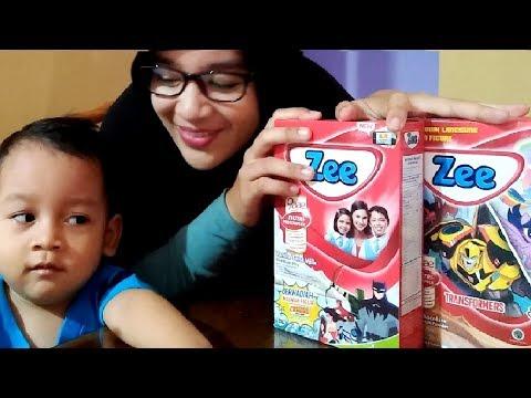 Surprise Hadiah Dari Susu Zee Kira-Kira Dapat Mainan Apa Ya !