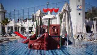Delphin Imperial  Lara Antalya Antalya & Belek Luxushotel Hotelvideo Video vom Hotel Pool Rezeption
