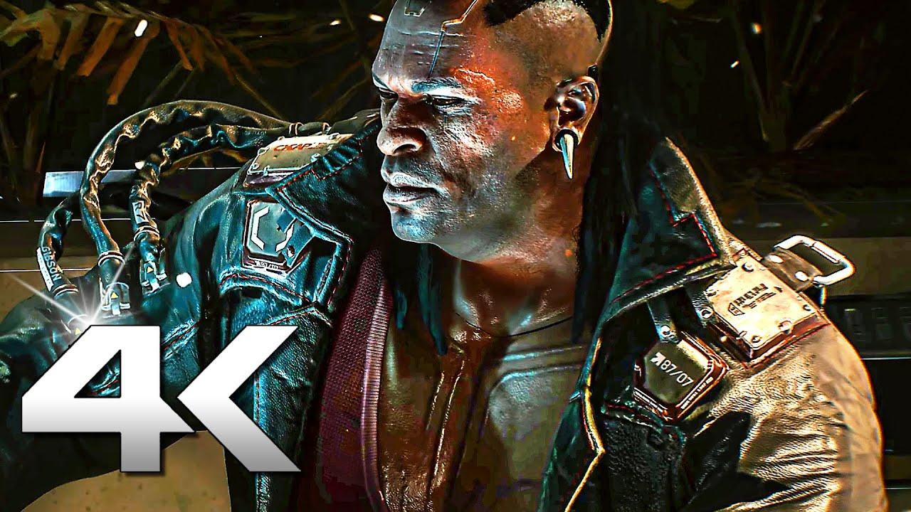 "CYBERPUNK 2077 ""Les Gangs"" Gameplay 4K (2020)"