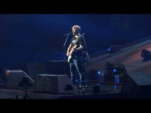 Ed Sheeran - Thinking Out Loud - Tacoma Dome 7/29/17
